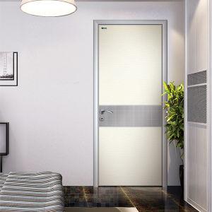 Porte de pièce en aluminium, modèles de portes Bois avec verre ...