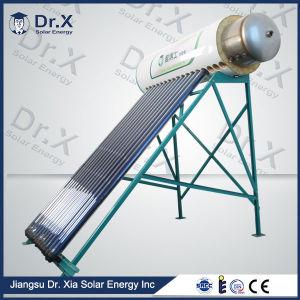 tubo de calor aquecedor solar de água pressurizada compacto