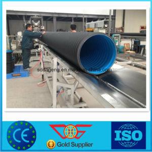 HDPE ondulado de doble pared del tubo de alcantarilla Sn6 de 300 mm.
