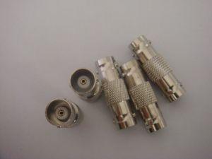 Latón y el Zinc conector BNC doble hembra