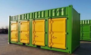 Contenedor de almacenamiento de la puerta de rodadura de 4