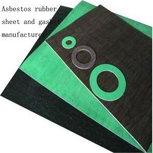 Het verzegelen van het Materiële RubberBlad van het Asbest voor Flens en Pijpleiding