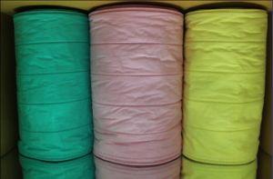 Canal de fibra sintética de cor/Bag os rolos de material do filtro de ar, F5-F9 Efficeincy (ZJ-M67P)