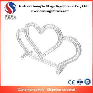 El equipo de la etapa Shengse armazón de aluminio de la armadura de forma personalizada para la boda romántica Pasillo diseñado