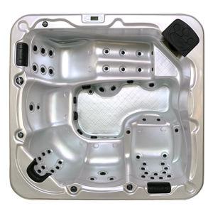 Modèle A511 spa chaud pour 5 personnes avec jacuzzi massage des pieds