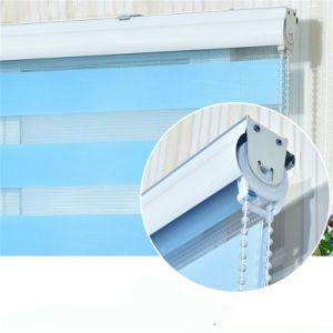 Produtos Finshed janela Cortinas Estores de Zebra 12 cores para a promoção de vendas