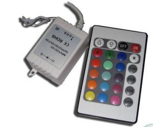 La clave 24 Controlador RGB (RC24-12V).