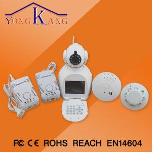 Einfaches Use Home Equioment mit Wireless Smoke, Gas Water Leak Detector