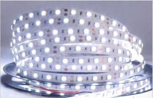 Singola striscia impermeabile dell'indicatore luminoso di colore SMD5050 30LEDs/M 12V LED