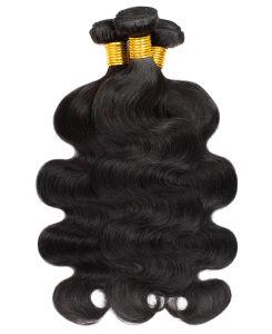 Grande quantité de 100 % perruque de cheveux humains vierge offre groupée d'onde du corps