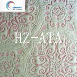 260gsm, tecido de malha de poliéster tecido colchões macios