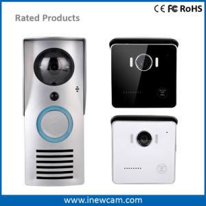 720p WiFiはスマートな電話ビデオ保安用カメラのドアベルを可能にした