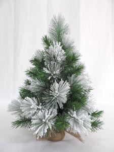 la decorazione artificiale della casa di natale di 60cm si è affollata l'albero del PVC del regalo della tela da imballaggio