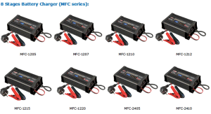 Портативный автоматический 12 вольт 15A автомобильное зарядное устройство Зарядное устройство для аккумулятора