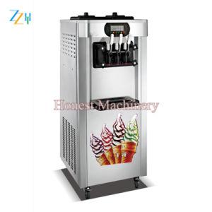 Crème glacée molle de haute qualité de la machine avec bon compresseur