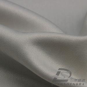 75D 240t tecidos Plaid 100% poliéster Jacquard Pongées Fabric (HRRE134RH)