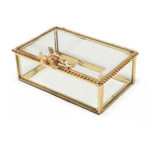 Het hete Kristal van de Verkoop bewaarde de Verse Doos van de Juwelen van de Bloem