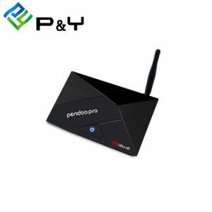 Pendoo PROintelligente des Fernsehapparat-Rk3328 gesetzter Spitzenkasten Kastenandroid-7.0