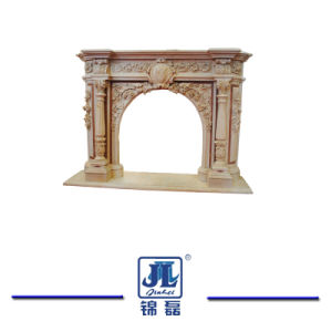 Cartouche及び重要、石灰岩の建築に石造りに切り分けることを切り分ける石灰岩の石