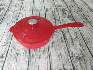 鋳鉄のエナメルの調理器具、鍋を調理する鋳鉄