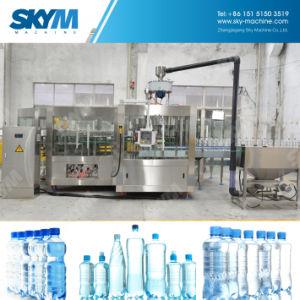 500ml自動飲み物のミネラルペットボトルウォーターの充填機のプラント