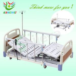 Hospital de tres funciones ABS super cama eléctrica baja Medical