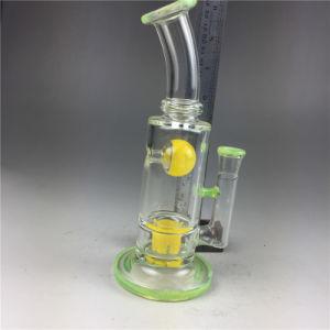 スモーク緑の黄色いガラス煙るガラス配水管