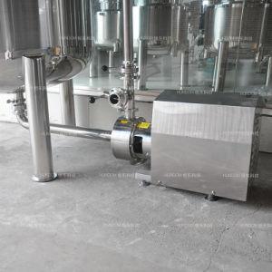 Cosmétique de chauffage à vapeur en acier inoxydable pour la crème/la lotion de cuve de mélange
