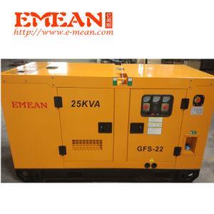 Emean卸し売り20kw 25kVAの無声ディーゼル発電機Genset