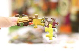 Puzzle educativo del gioco del libro del puzzle del documento della fabbrica della Cina
