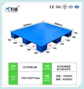 Reciclagem de 4 vias de paletes plásticos HDPE/Bandeja para todas as dimensões utilizadas no depósito, logística, transporte de paletes