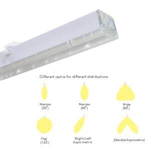 Una riga lineare indicatore luminoso di 150 Lm/W LED del tubo del sistema della camera di equilibrio per il magazzino