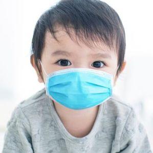 Máscara de médicos descartáveis para crianças