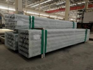 Het Vlakke Aluminium van uitstekende kwaliteit van de Rang 6082-T6 van de Legering van het Aluminium om Staven