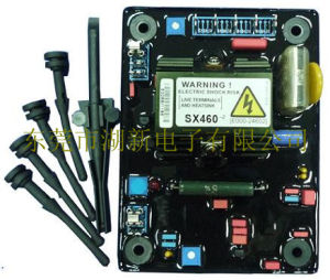 Pièces du générateur (AVR SX460)