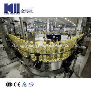 Linear automática Motor Tipo de enchimento de óleo de embalagem de engarrafamento a linha da máquina