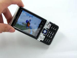 Duplo SIM de banda quádrupla TV Telefone móvel Dual Standby ( C702)