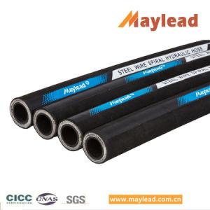 DIN 853 cable de acero estándar malla tubo de caucho con 2st Manguera hidráulica