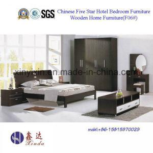 가죽 현대 침실 가구 (B706A#)를 가진 베트남 나무로 되는 침대 ...