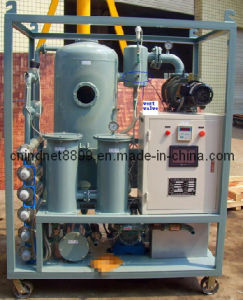 Zyd50 Purificador de aceite del transformador de alto vacío, el aislamiento de purificación de aceite