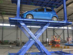 二重Platfomの自動化された車の駐車システムは車の上昇を切る