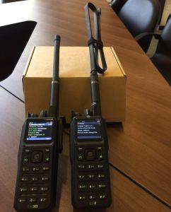 700-800MHz Dmr y P25 Radio portátil con función de repetidor individual Chanel