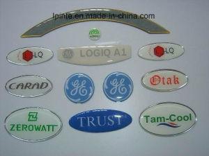 OEM di marchio della sovrapposizione del contrassegno dell'epossidico dell'autoadesivo 3D