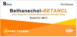 GMP van de Injectie van het Chloride van Bethanechol Fabriek
