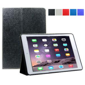 iPadのプロ空気箱の革立場のフォリオの箱のラップトップ