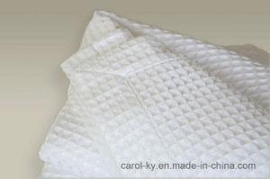 100%の柔らかい優れた綿の熱軽量の容易な心配毛布