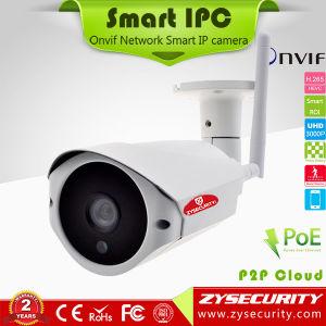 Drahtlose WiFi IP-Kamera, IP66 imprägniern Gehäuse reparierte Objektiv-Gewehrkugel H. 265+ Kamera IP-2.0MP 1080P