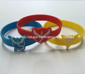 Pokemon va braccialetto mistico del silicone di prodezza di istinto della squadra del gioco