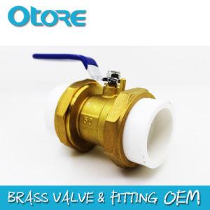 Válvula de bola de latón tubo PPR