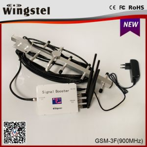 Repetidor do sinal GSM amplificador de sinal de 900MHz amplificador branco para utilização doméstica móvel